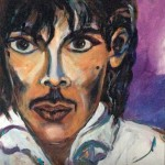 series Celebrities -  Prince, 2014, acrylic on canvas, 40x40