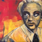 Klaus Kinski - Fitzcarraldo, 2014, acrylic on canvas, 60x80